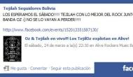Grupo Tejilah tendrá una presentación en vivo este 24 deMarzo