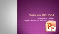 Presentaciones – Solo en Bolivia, una sonrisa para esteSábado!!!