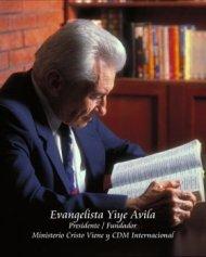 Premio Águila reconocerá la trayectoria del evangelista YiyeÁvila.