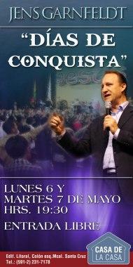 Seminario «Días De Conquista» Con El Pastor JensGarnfeldt.