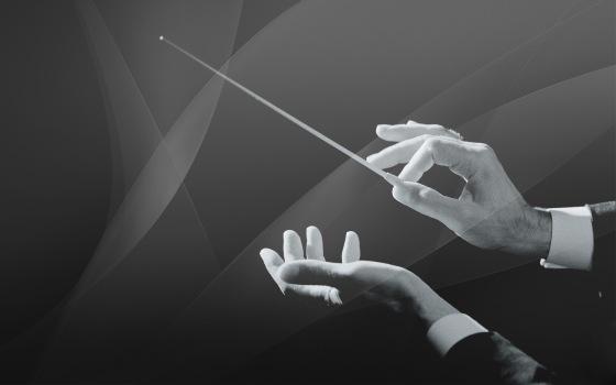 Batuta - Director Orquesta - DIOS - Dirige