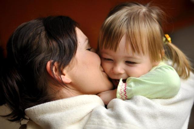bébé et mere