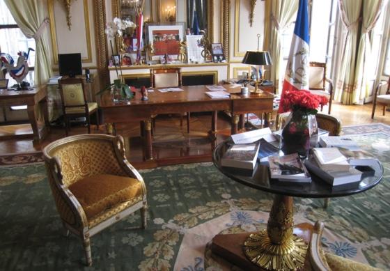 Despacho presidencial en La Moneda, Santiago de Chile