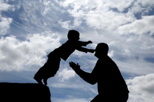 Fe - Confianza - Padre e Hijo