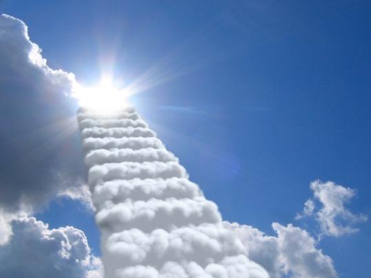 Gradas Hacia El Cielo - Nubes