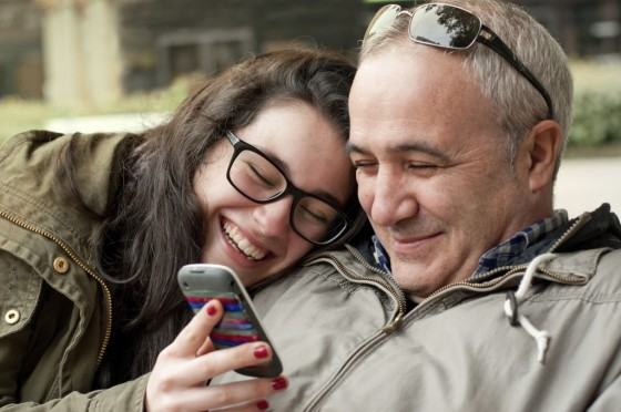 Padre e Hija - Compartiendo - Platicando - Hablando
