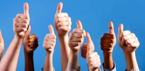 Dedos Arriba - Positivo