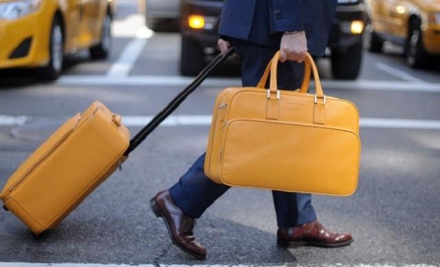 Hombre de Negocios - Maletas - Viaje