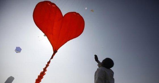 Corazón - Volador - Papalote