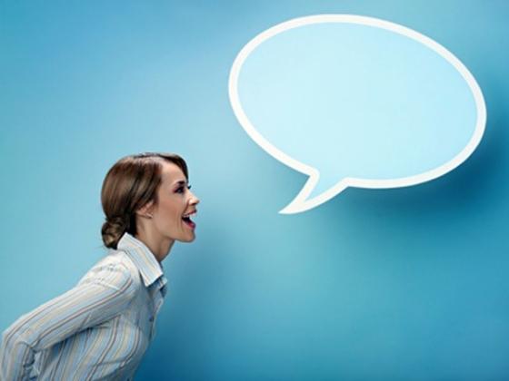 Mujer - Globo Hablar