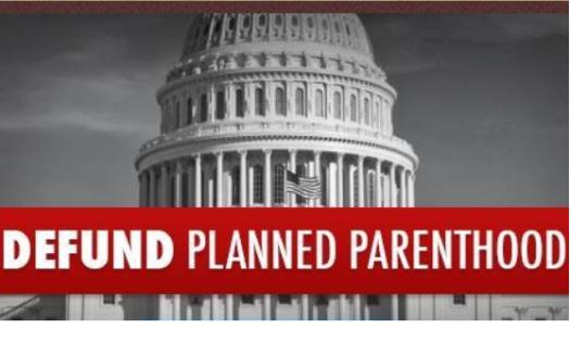 defundplannedparenthood