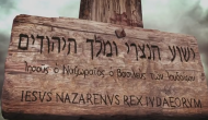 El letrero sobre laCruz