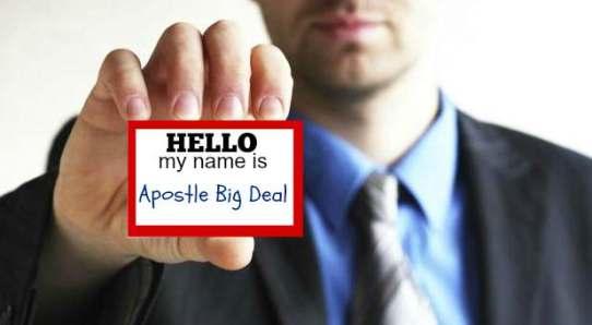 ApostleBigDeal