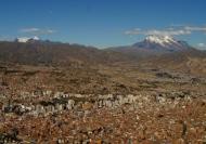 La vista desde lo alto de lamontaña