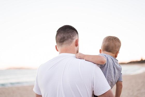 dads hug